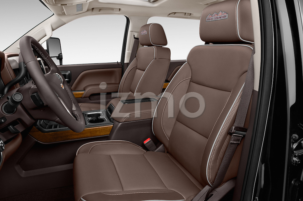 Front seat view of 2016 Chevrolet Silverado 2500Hd High Country 4 Door Pick Up Front Seat  car photos