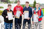 Junior Certificate Results at Coláiste Ide & Iosef Abbeyfeale L-R  Conor Hartigan Abbeyfeale, Callum Hawkins Brosna, Arron Fay Brosna, Sean Noonan Abbeyfeale.