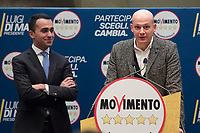 Domenico Fioravanti<br /> Roma 29/01/2018. Presentazione dei candidati nelle liste uninominali del Movimento 5 Stelle.<br /> Rome January 29th 2018. Presentation of the candidates for Movement 5 Stars.<br /> Foto Samantha Zucchi Insidefoto