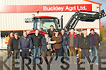 Abbeydorny Ploughing Society: Pictured  on Saturday last a the presentation of Sponsorship by Paudie Buckley, Buckley Agri Ltd. Listowel to Jimmy Lawlor, President Abbeydorney Ploughing Society for the Ploughing competition to be held on the lands of Jack Corridon, Abbeydorney on January 20th next. L- R : Mundy Hayes, Aeneas Horan, Tom O'Mahony, Henry Buckley, Jimmy Lawlor, Donal Mulvihill, Paudie Buckley, John Lawlor, Willie Keane, Dodo O'Connell, Jer McCarthy & Jack Corridon.