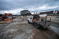 Site operations at CentrePort in Wellington, New Zealand on Wednesday, 8 August 2018. Photo: Dave Lintott / lintottphoto.co.nz