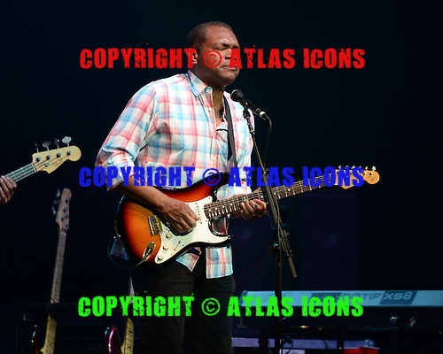 HOLLYWOOD FL - MAY 31 : Robert Cray performs at Hard Rock Live held at the Seminole Hard Rock Hotel &amp; Casino on May 31, 2013 in Hollywood, Florida.<br />