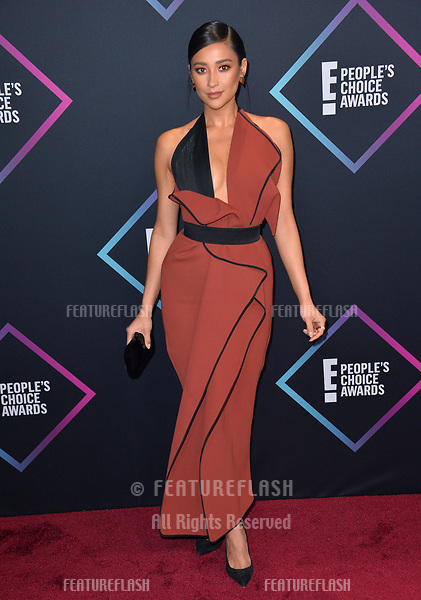 LOS ANGELES, CA. November 11, 2018: Shay Mitchell at the E! People's Choice Awards 2018 at Barker Hangar, Santa Monica Airport.<br /> Picture: Paul Smith/Featureflash