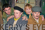 COMEDY/DRAMA: The cast from the CYMS players, Killorglin rehearsing the Michael Carey comedy/drama 'Thy Will Be Done' in the CYMS on Monday evening l-r: Karl Falvey, Mike Moriarty, Breda Falvey and Donal Pigott.   Copyright Kerry's Eye 2008