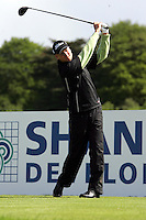 Martin Erlandsson tees off on the 2nd hole during the third round of the Irish Open on 19th of May 2007 at the Adare Manor Hotel & Golf Resort, Co. Limerick, Ireland. (Photo byEoin Clarke/NEWSFILE).