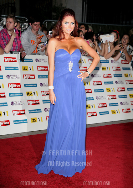 Amy Childs arriving for the 2011 Pride Of Britain Awards, at the Grosvenor House Hotel, London. 04/10/2011 Picture by: Alexandra Glen / Featureflash