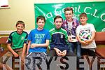 John Kelliher, Fergal Barry, Rory Murphy, Tadgh Lynch and Jack Lynch  enjoying the Na Gaeil family fun Day on Sunday