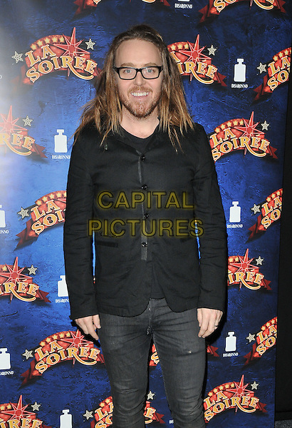 Tim Minchin attends the &quot;La Soiree&quot; VIP press night, La Soiree Spiegeltent, Southbank Centre, Belvedere Road, London, England, UK, on Friday 06 November 2015. <br /> CAP/CAN<br /> &copy;Can Nguyen/Capital Pictures
