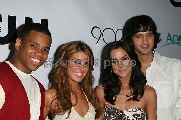 "23 August 2008 - Malibu, California - 90210 Cast. CW Network's ""90210"" Premiere Party held at a Private Location. Photo Credit: Faye Sadou/AdMedia"