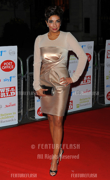 Shobna Gulati arriving for the Children's Championship Awards, London. 03/03/2010  Picture by: Simon Burchell / Featureflash
