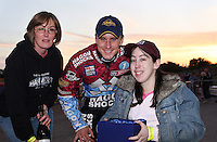 Lakeside Hammers Rider of the Month award presented to Lee Richardson - Lakeside Hammers vs Swindon Robins, Elite League Speedway at the Arena Essex Raceway, Purfleet - 03/09/10 - MANDATORY CREDIT: Rob Newell/TGSPHOTO - Self billing applies where appropriate - 0845 094 6026 - contact@tgsphoto.co.uk - NO UNPAID USE.