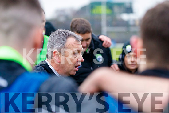 Kerry Manager Peter Keane  Kerry v Tyrone after the Allianz Football League Division 1 Round 1 match between Kerry and Tyrone at Fitzgerald Stadium, Killarney on Sunday.