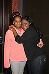 "One Life To Live Shenell Edmonds ""Destiny"" poses with her sister Dee Dee at 9th Annual Daytime Stars & Strikes Charity Event to benefit The American Cancer Society on October 7, 2012 at Bowlmor Lanes Times Square, New York City, New York.  (Photo by Sue Coflin/Max Photos)"