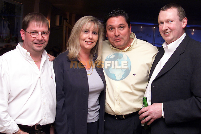 Liam Hodson, Eimer Gilna, Brian Browning and Jerome Brennan at the official opening of La Boheme in Shop Street..Picture: Paul Mohan/Newsfile