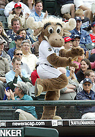 The Seattle Mariners Moose entertained the crowd against the  San Diego Padres at Safeco Field in Seattle, Wa.