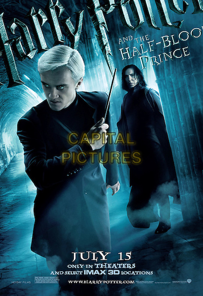 POSTER ART - DRACO (TOM FELTON).in Harry Potter and the Half-Blood Prince.*Filmstill - Editorial Use Only*.CAP/FB.Supplied by Capital Pictures.