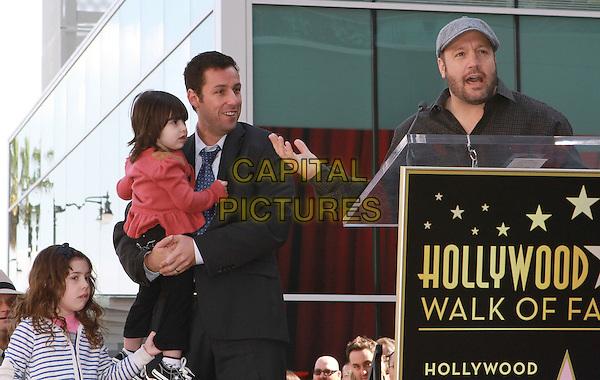 Adam Sandler Receives Star On The Hollywood Walk Of Fame