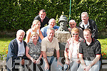 COMMEMORATING: Enjoying the Sean McCarthy Festival in Finuge were in front from left, Moss Kelliher, Listowel, Helen Conway, Lixnaw, Willie OConnor and Peggie and Tom OConnell, Finuge. Back from left, Nollaig McCarthy, Finuge, Andrew Doyle, Banna, James Allman, Tralee, Michael Conway, Lixnaw, and David Clifford, Causeway..