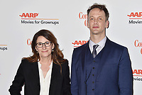BEVERLY HILLS, CA - FEBRUARY 04: Nicole Holofcener (L) and Jeff Whitty attend the 18th Annual AARP The Magazine's Movies For Grownups Awards at the Beverly Wilshire Four Seasons Hotel on February 04, 2019 in Beverly Hills, California.<br /> CAP/ROT/TM<br /> &copy;TM/ROT/Capital Pictures