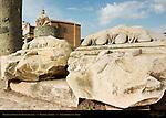 Portico of Gaius and Lucius Caesar (detail) Basilica Aemilia Forum Romanum Rome