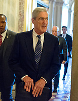 Special Counsel Robert Mueller Departs the US Capitol
