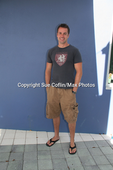 Young and the Restless John Driscoll at the 12th Annual SoapFest - Painting Party to benefit Marco Island YMCA, theatre program & Art League of Marco Island on May 15, 2010 on Marco Island, FLA. (Photo by Sue Coflin/Max Photos)
