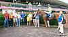 Why Not Be Queen winning at Delaware Park on 8/31/15