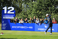 Xander Schauffele (USA) during the second round of the Porsche European Open , Green Eagle Golf Club, Hamburg, Germany. 06/09/2019<br /> Picture: Golffile | Phil Inglis<br /> <br /> <br /> All photo usage must carry mandatory copyright credit (© Golffile | Phil Inglis)