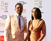 LOS ANGELES - MAR 30:  Mike Epps, Kyra Robinson at the 50th NAACP Image Awards - Arrivals at the Dolby Theater on March 30, 2019 in Los Angeles, CA