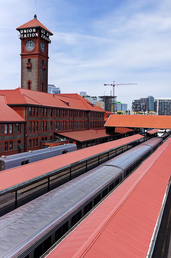 Portland's Union Station, Portland, Oregon, USA