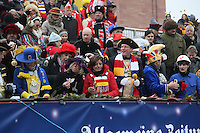 Ministerpräsidentin Malu Dreyer - Rosenmontagsumzug in Mainz
