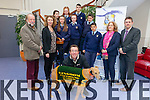 A night at the dogs will be held to raise funds for Listowel Community College on March 13th in Tralee. Students pictured were: Diarmuid McDonnell, Michael Falvey, Rebecca Bambury, Amy O'Connor, Megan Mulvihill, Katelyn Flynn and Simon Bajger. Also pictured were Dick Carmody, Mary Dowling, Declan Dowling (Kingdom Greyhound Stadium), Theresa O'Brien and Cathal Fitzgerald (Principal).