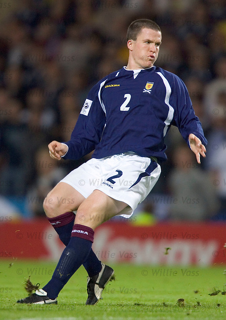 Gary Caldwell, Scotland.stock season 2004-2005.pic willie vass