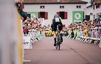 Mathew Hayman (AUS/Mitchelton-Scott) rolling out<br /> <br /> Stage 20 (ITT): Saint-Pée-sur-Nivelle >  Espelette (31km)<br /> <br /> 105th Tour de France 2018<br /> ©kramon