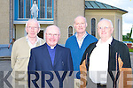 Tom Collins, Fr Gearoid Walsh, Donie O'Shea all Currow and Michael Cronin Listowel at the 50th anniversary of the Prince of Peace church in Currow on Tuesday evening   Copyright Kerry's Eye 2008