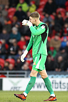 Doncaster Rovers' Ian Lawlor during the Sky Bet League 1 match between Doncaster Rovers and Oldham Athletic at the Keepmoat Stadium, Doncaster, England on 16 December 2017. Photo by Juel Miah / PRiME Media Images.