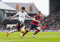 Fulham's Lucas Piazon during the Sky Bet Championship match between Fulham and Queens Park Rangers at Craven Cottage, London, England on 17 March 2018. Photo by Andrew Aleksiejczuk / PRiME Media Images.