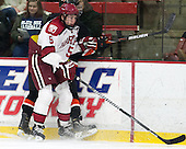 Dan Ford (Harvard - 5) - The Harvard University Crimson defeated the Princeton University Tigers 3-2 on Friday, January 31, 2014, at the Bright-Landry Hockey Center in Cambridge, Massachusetts.