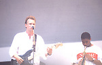 Live Aid 1985 Wembley Stadium, London , England. Sting , Branford Marsalis.