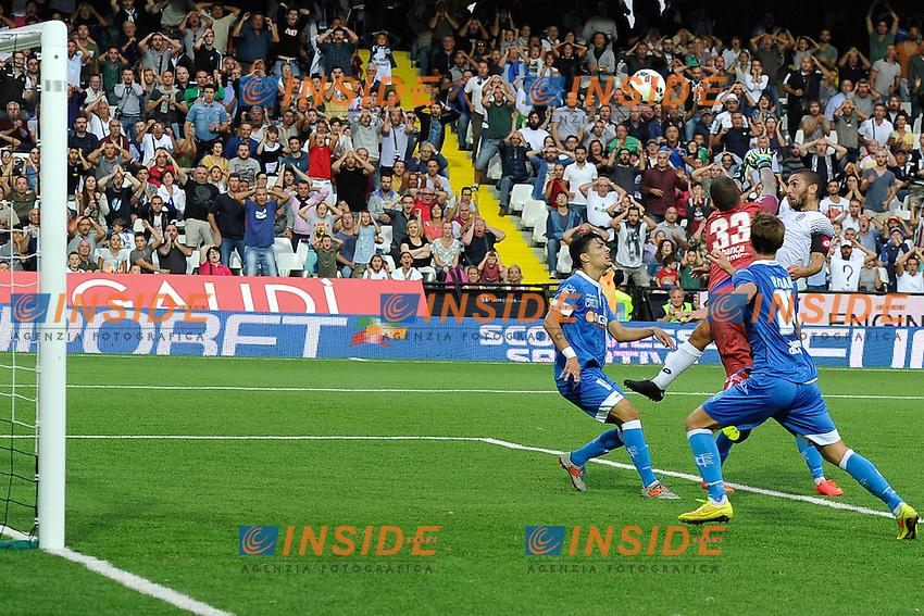 gol Guido Marilungo Cesena Goal celebration <br /> Cesena 20-09-2014 Stadio Dino Manuzzi - Football Calcio Serie A Cesena - Empoli foto Luca Gambuti/Image Sport/Insidefoto