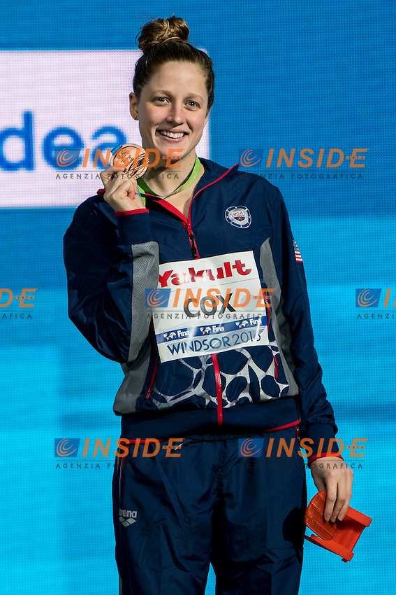 COX Madisyn USA Bronze Medal<br /> Women's 200m Individual Medley<br /> 13th Fina World Swimming Championships 25m <br /> Windsor  Dec. 10th, 2016 - Day05 Final<br /> WFCU Centre - Windsor Ontario Canada CAN <br /> 20161210 WFCU Centre - Windsor Ontario Canada CAN <br /> Photo &copy; Giorgio Scala/Deepbluemedia/Insidefoto