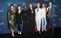 "09 May 2019 - North Hollywood, California - Patty Jenkins, India Eisley, Golden Brooks, Connie Nielsen, Jefferson Mays, Chris Pine, Sam Sheridan. Emmy FYC for TNT'S ""I Am the Night"" held at the Saban Media Center at the Television Academy. Photo Credit: Birdie Thompson/AdMedia"