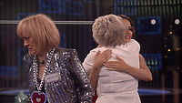 Amanda Barrie, Maggie Oliver and Jess Impiazzi.<br /> Celebrity Big Brother 2018 - Day 1<br /> *Editorial Use Only*<br /> CAP/KFS<br /> Image supplied by Capital Pictures