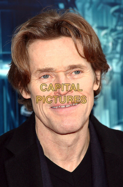 """WILLEM DAFOE .Attending the New York City Premiere of """"Daybreakers"""" held at the SVA Theater, New York, NY, USA, 7th January 2010..portrait headshot black  .CAP/ADM/PZ.©Paul Zimmerman/AdMedia/Capital Pictures."""