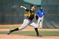 Pittsburgh Pirates pitcher Nick Neumann (7) during a minor league spring training game against the Toronto Blue Jays on March 21, 2015 at Pirate City in Bradenton, Florida.  (Mike Janes/Four Seam Images)