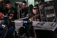 SÃO PAULO, SP, 07.06.2019: CASO NEYMAR NAJILA TRINDADE -SP- Saída de  Najila Trindade, modelo de 26 anos que acusa o jogador Neymar Jr. de estupro, após prestar depoimento na 6ª delegacia de defesa da mulher, no bairro de Santo Amaro, Zona Sul de São Paulo, SP, na tarde desta sexta-feira (07). (Foto: Marivaldo Oliveira/Código19)