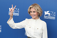 """Jane Fonda at the """"Our Souls At Night"""" photocall, 74th Venice Film Festival in Italy on 1 September 2017.<br /> <br /> Photo: Kristina Afanasyeva/Featureflash/SilverHub<br /> 0208 004 5359<br /> sales@silverhubmedia.com"""