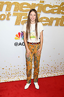 """Courtney Hadwin<br /> at the """"America's Got Talent"""" Season 13 Live Show Red Carpet, Dolby Theater, Hollywood, CA 08-14-18<br /> David Edwards/DailyCeleb.com 818-249-4998"""