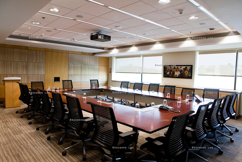 Conference room 306..Bill and Melinda Gates Foundation Office space in New Delhi, Delhi, India. Photo by Suzanne Lee for Bill and Melinda Gates Foundation.