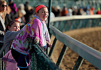LOUISVILLE, KENTUCKY - MAY 03: at Churchill Downs on May 3, 2017 in Louisville, Kentucky. (Photo by Douglas DeFelice/Eclipse Sportswire/Getty Images)